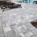 Photo Of Brick Paver Driveway After Cleaning and Sealing