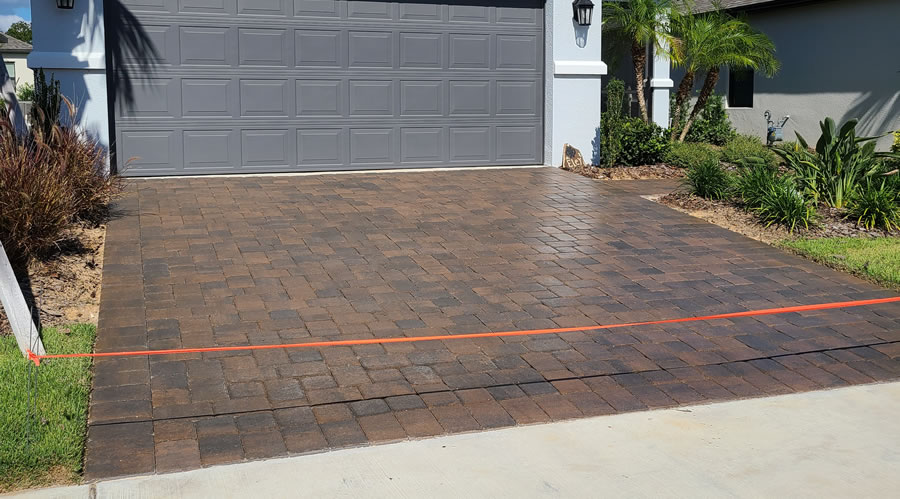 Paver Cleaning and Sealing Clermont Florida